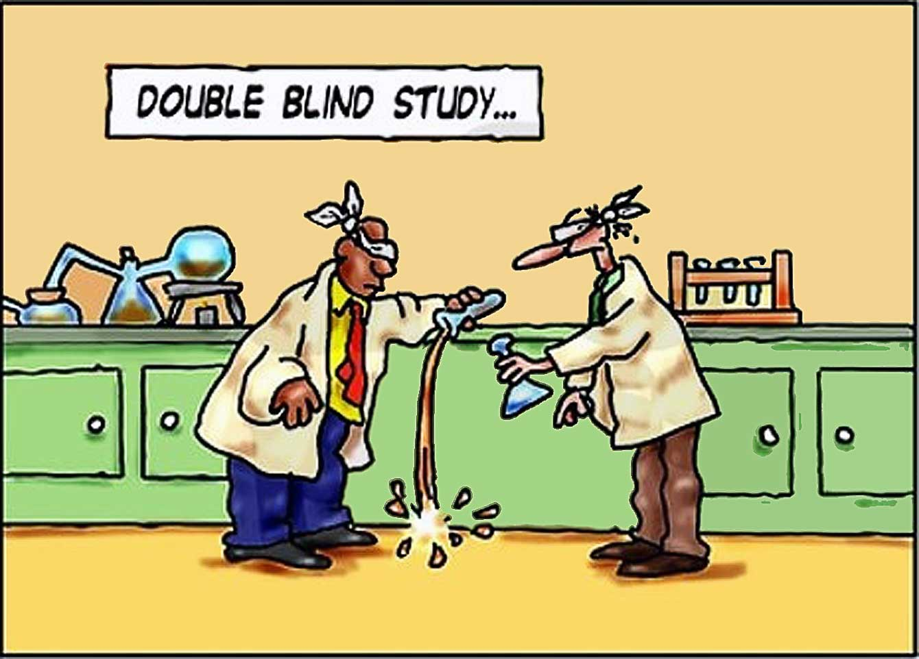 Image result for double blinded crime lab